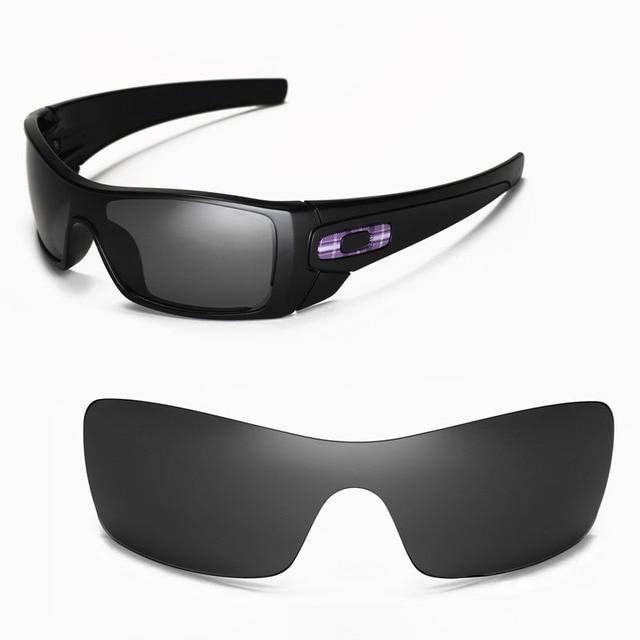 9c63cf4385a6d Lentes de Reposição walleva Polarized para Oakley Batwolf Óculos De Sol 5  cores disponíveis