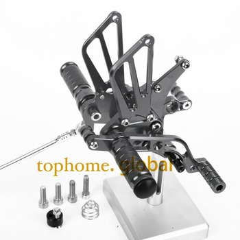 For BENELLI BJ600GS 2010 2011 2012 2013 CNC Motorcycle Parts Rearsets Foot Pegs Rear Set Titanium Color