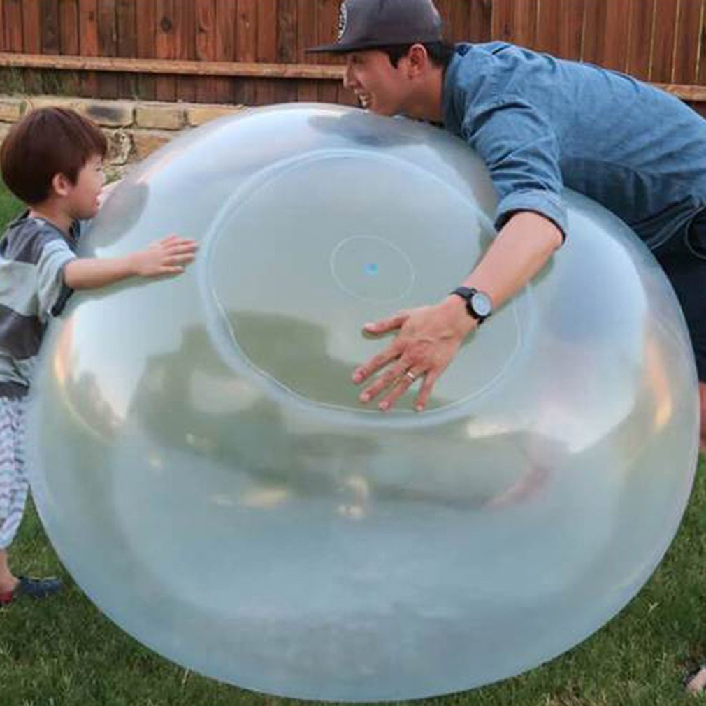 1Pcs Super Bubble Balloon Inflatable Funny Toy Ball Amazing Bubble Ball Inflatable Ball Toys For Kids Outdoor Play