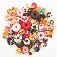 Resin cakes,ice cream,clay Rainbow,lollipop.donut.mixed model,kawaii food flatback for Phone shell Decoration.DIY.lets start