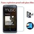 Nano a prueba de explosiones de vidrio suave protector pantalla protectora para htc desire 400 dual sim