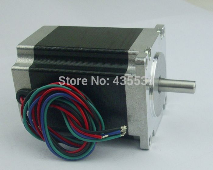 Nema23 stepper motor 76mm 3a 1 8n m 2 phase 4 wire for 3 phase stepper motor