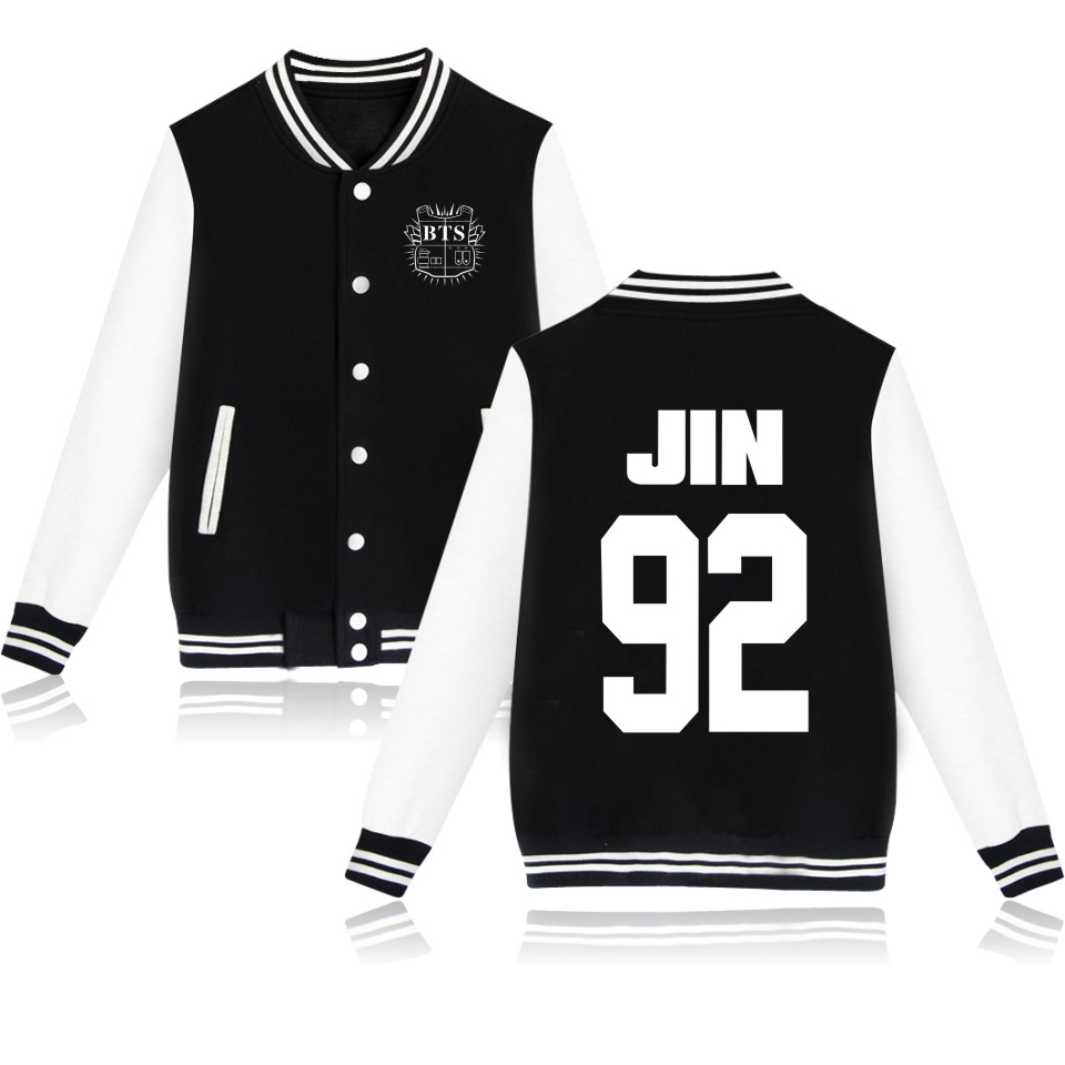 New! Kpop BTS Bangtan Boys Sweatshirt Women winter jacket women luxurious Baseball Jacket Hoodie Bts Sweatshirts Forever