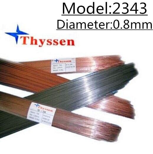 1KG/Pack Thyssen 2343 of 0.8mm Laser Welding Wire for Welders T06705 laser welding of duplex stainless steels