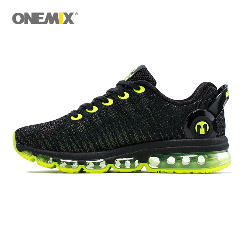 ONEMIX Running Shoes for Men, 2017 Lightweight and Breathable Sneaker for Outdoor Sport and Air Cushion  Jogging  Size EU 39-46
