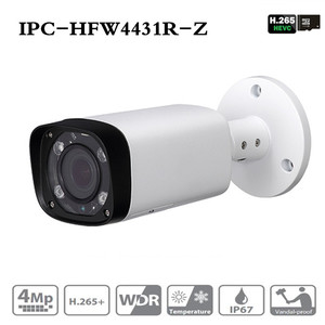 Image 1 - Dahua IPC HFW4431R Z Cámara nocturna de 4MP 80m IR con 2,7 ~ 12mm, objetivo VF Zoom motorizado enfoque automático Bullet cámara IP CCTV Security POE