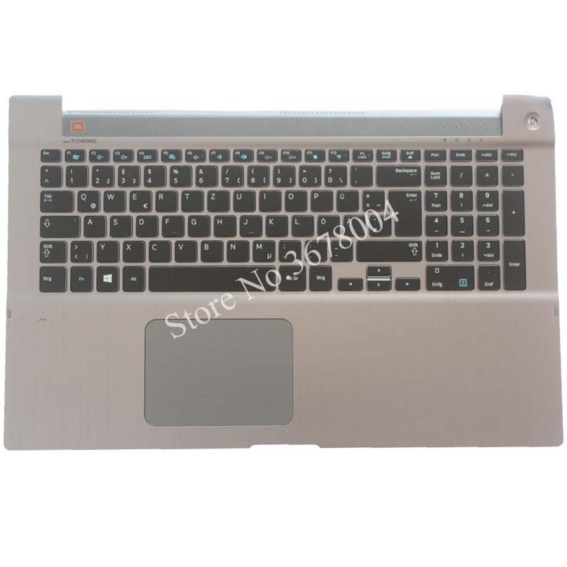 NEW German For Samsung 700Z7A 700Z7B 700Z7C NP700Z7A NP700Z7B NP700Z7C Backlit keyboard GR laptop keyboard with C shell стоимость