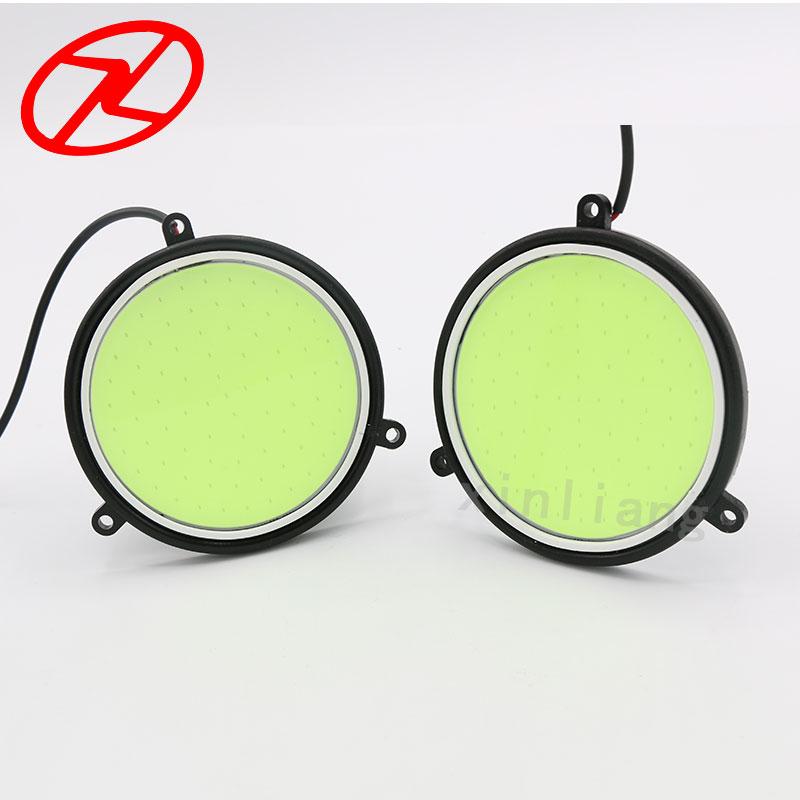 2X Υψηλή ισχύς COB Daytime Running Light 12V - Φώτα αυτοκινήτων - Φωτογραφία 5