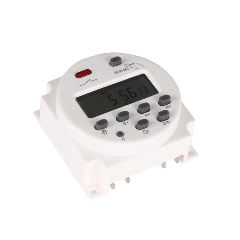 New Hot DC 12V/220V Digital LCD Power Timer weekly 7days Relay 8A TO 16A TIMER 10A mini Programmable Time Switch new arrival high quality 16a 220v ac digital lcd weekly programmable timer time relay switch ve505 p30