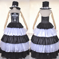 Athemis Anime ONE PIECE Perona Cosplay Costume Dresses Clothes Custom Made Outfit