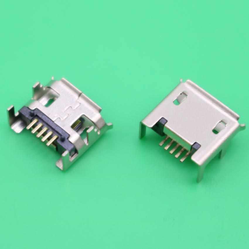 YuXiสำหรับACER ICONIA TAB A100แท็บเล็ต/Lenovo I Deap Adแท็บเล็ตa2107 M Icro USBแจ็คขั้วต่อสายไฟซ็อกเก็ตชาร์จ5จุด