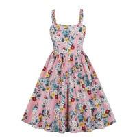 Dress women summer 2019 dress women Fashion Vintage Boho Spring Vintage Country Rock Dress Y606