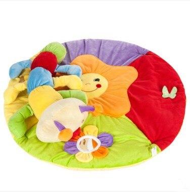 Tapis de jeu Musical coloré pour bébé tapis de jeu avec jouets enfants tapis de jeu enfants tapis rampant Tapete jouets éducatifs - 3