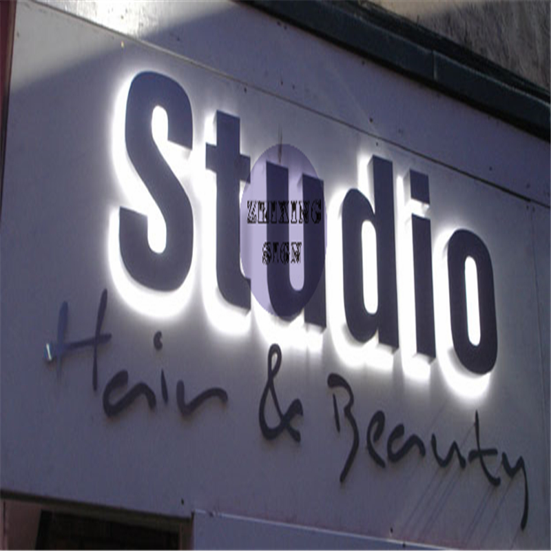 Factory Outlet Stainless Steel Backlit Led Letter Signs