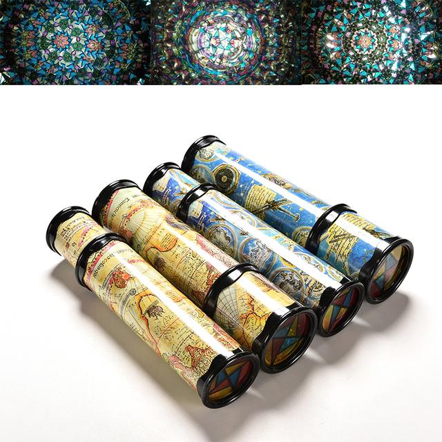 Rotating Kaleidoscopes 21/31cm  Colorful World Preschool Toys Style at Random Best Kids Xmas Gifts