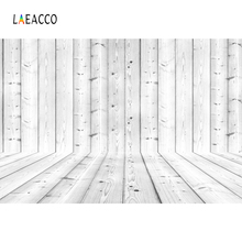Laeacco Simple Wooden Wall Floor Photo Backgrounds Customized Photography Backdrops For Studio