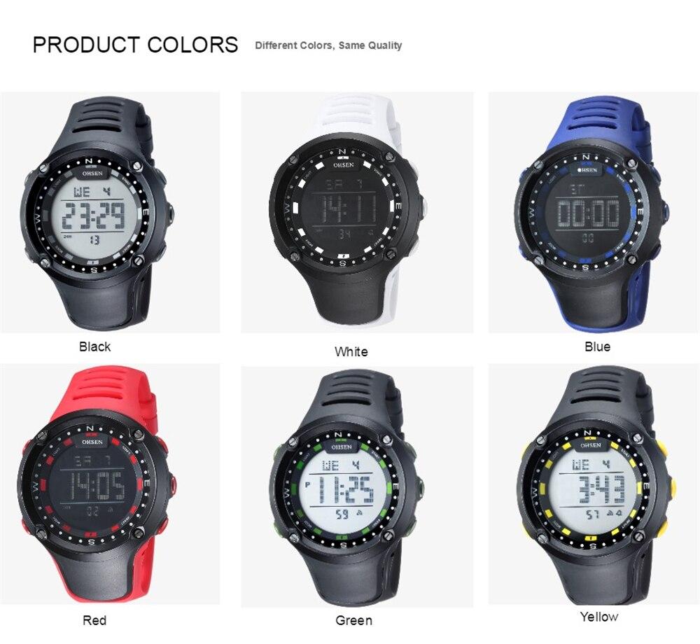 OHSEN Brand Men Women Sports Watches Waterproof Alarm Digital LED Electronic Clock Man Sport Male Casual Watch Relogio Masculino (32)