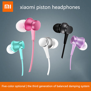 Image 2 - 100% Original Xiaomi Piston 3 Earphones Youth Colorful Edition 3.5mm 3rd Bass Earphone Basic Version Headset with Remote & Mic