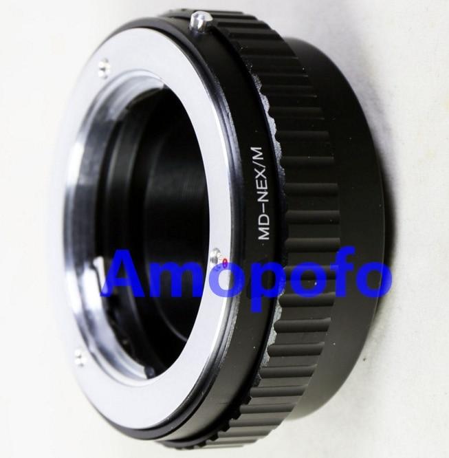 Amopofo MD-NEX / M Adaptateur pour objectif de monture Minolta MD à - Caméra et photo