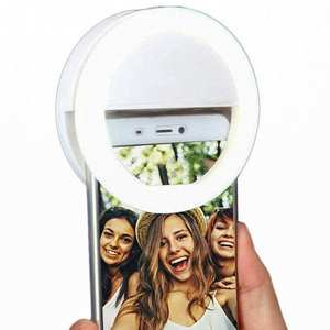FGHGF Supplementary USB charge LED Selfie Ring Light for Phone