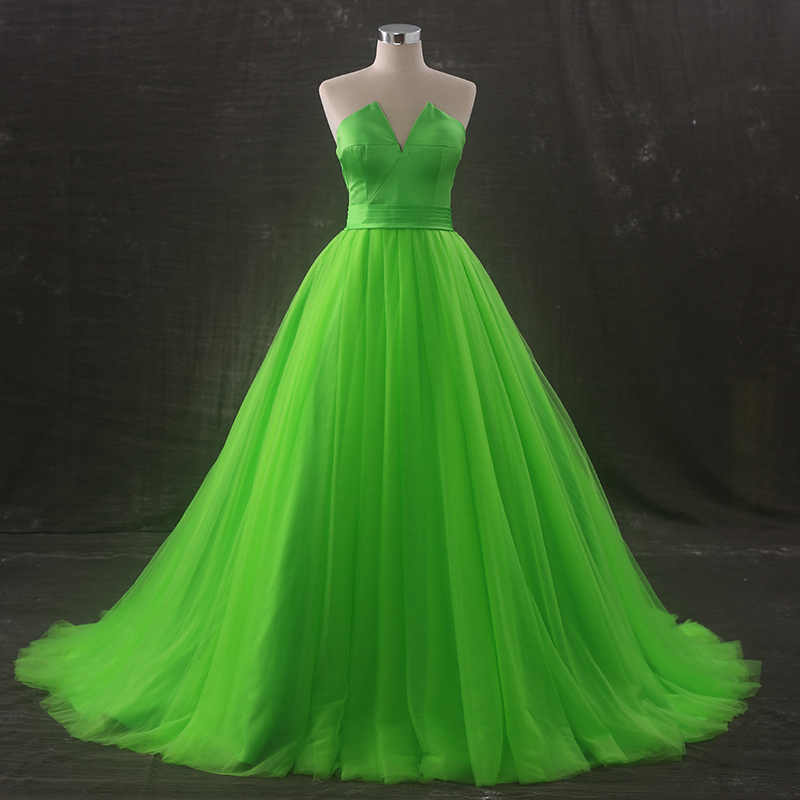 Cheap lime prom dresses