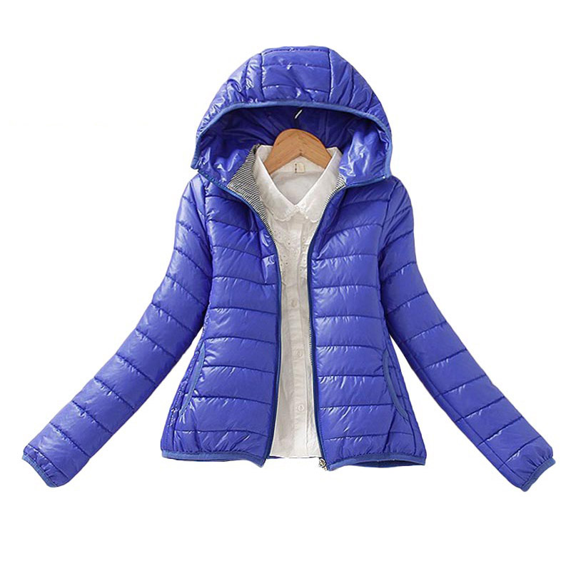 8 color upgrade edition 2019 super warm winter parka jacket coat ladies women jacket Slim Short