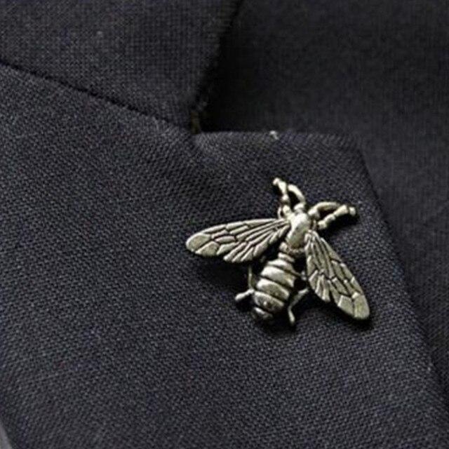 1 шт. изысканный ретро трехмерный металлический милый насекомое брошь ювелирные изделия оптом подходит для мужчин и женщин