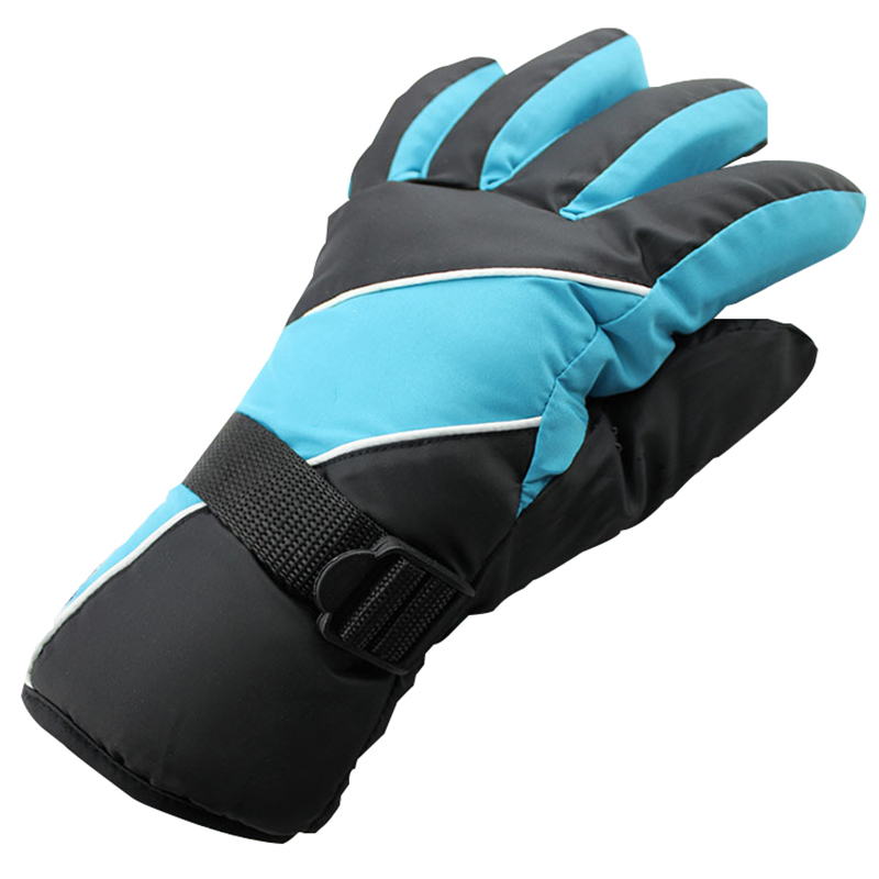 1 pair Full Finger Motorcycle Winter Warm Gloves E Bike Riding Skiing Men Women Sport Gloves Waterproof Anti wind Anti slip in Gloves from Automobiles Motorcycles