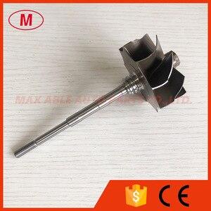 Image 2 - GT3076R GTX3076R GTX3067R 55/60mm 9 Lưỡi dao bi Turbo Turbine bánh trục/tuốc bin trục & bánh xe