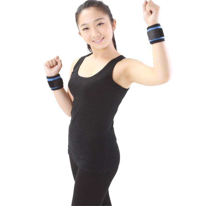 Professional Elastic Nylon Soft Wrist Protector Self-heating Tourmaline Magnet Ease Wrist Pain Wrist Brace Support Aofeite-H004
