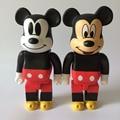 Mickey Mouse Figura de Acción 400% Be @ rbrick Bearbrick Cos Mickey Mouse Muñeca PVC ACGN figura de Juguete Brinquedos Anime