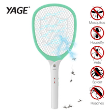 YAGE Electric Mosquito Swatter Killer de țânțari Pest de control Bug Zapper Reject rachetă Trap 2200V Shock Electric 1200mAh 18650 B