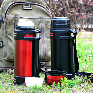 Image 3 - High capacity Stainless steel thermos Fashion everyday, outdoor,automotive water thermo cup Portable insulation Vacuum cup 3L/2L