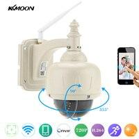 KKMOON H 264 HD 720P Wireless WiFi IP Camera Outdoor 2 8 12mm Auto Focus PTZ