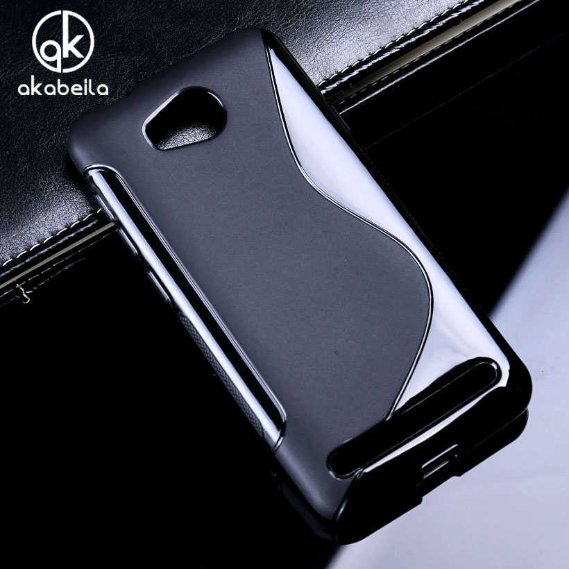 Akabeila Silicone Phone Cover Case untuk Huawei Y3 II Y3 2 Y3II Y3 2nd LUA-L02 LUA-L03 LUA-L21 LUA-L22 LUA-U22 Case S Penutup Belakang