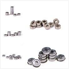 10 шт./лот MR63ZZ/606ZZ/F623ZZ/623ZZ/624-ZZ мини стальные роликовые подшипники высокоскоростная Миниатюрная модель подшипника стальные валы