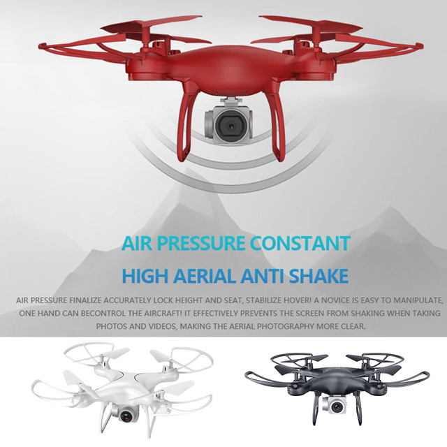 Aircraft Quadcopter 2.4GHz 4CH 6 Axis Gyro 3D Flips 500MP Rolling Altitude Hold Headless Mode 1080P APP FPV Professional Drone