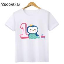 bbe02edf Birthday Number Bow 1~9 Cartoon Music Children T Shirt Designs Teen Kids  Animal Clothing