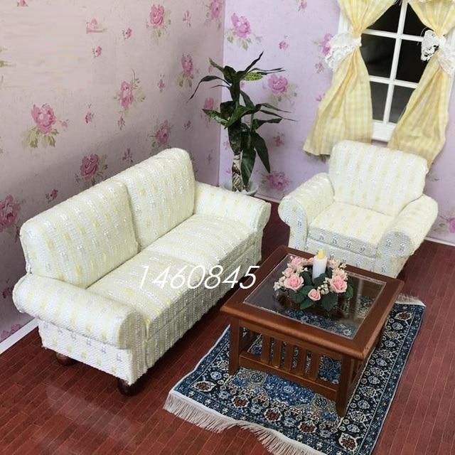 Mobili Dollhouse miniature accessori Boutique tessuto soggiorno mini ...