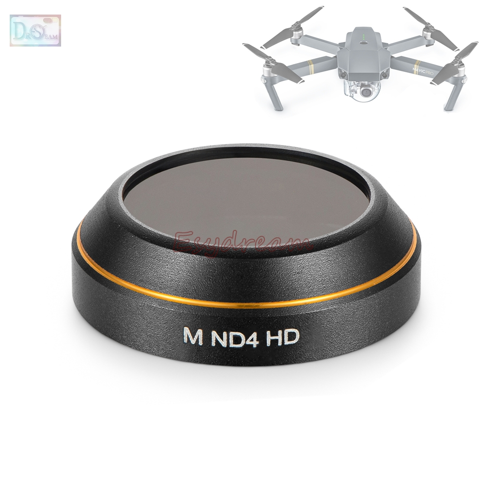 Better Glass ND4 Neutral Density Lens Filter for DJI Mavic Pro Accessories Quadcopter Drone Camera