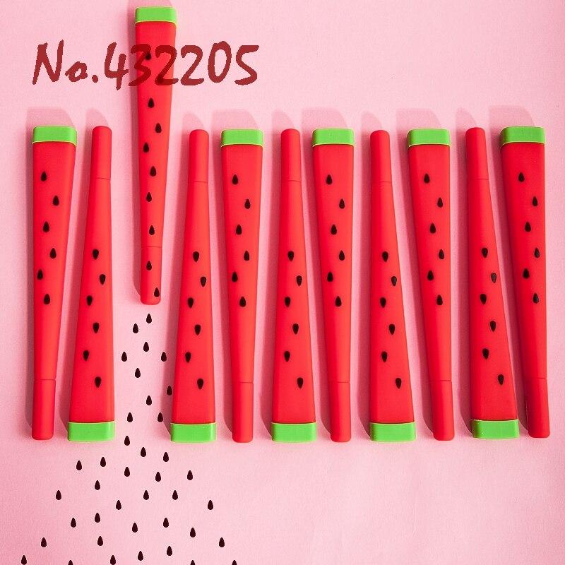 2 Stks Cartoon Fruit Watermeloen Gel Pen Student School Tool Kid Vriend Thuis Verjaardag Party Decoration Gunsten Levert Beste Cadeau Om Een Gevoel Op Gemak En Energiek Te Maken