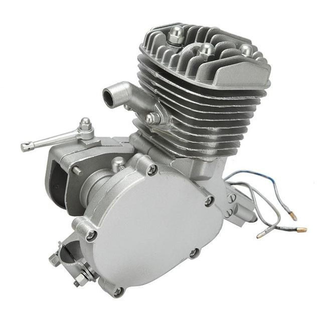 "New 80cc 38MPH 2 Stroke Engine Single Cylinder Air-cooling For 24"" Road Bikes Mountain Bike Cruisers Choppers With V-frame"