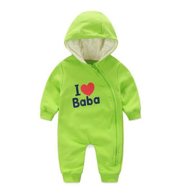 Ropa infantil Del Mameluco Del Bebé Niños Niñas Mono Recién Nacido Bebe Amo Papa Mama Ropa de Bebé de Diseño Lindo Stitch Mameluco B0019
