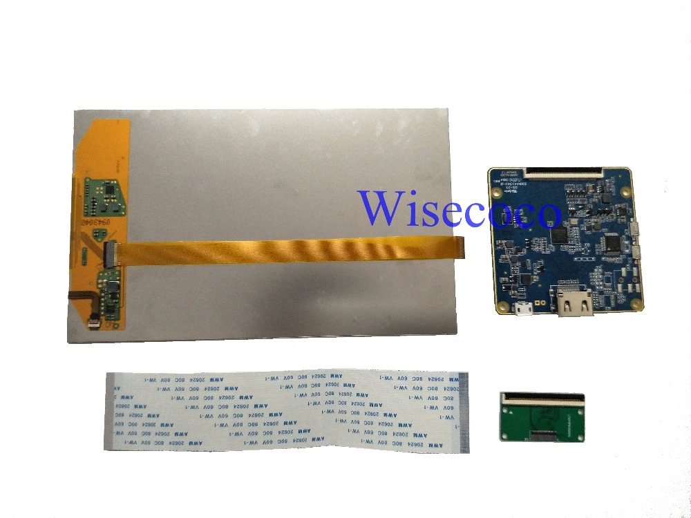 New 7 inch TFT LCD IPS screen 1200*1920 MIPI LCD display with HDMI driver  board controller board for Raspberry Pi, PC Windows 7