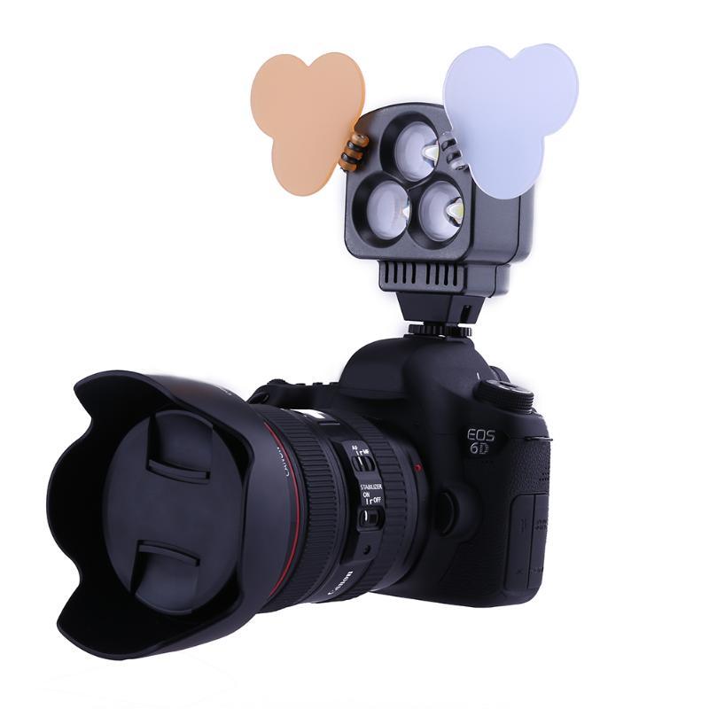 ALLOET ZF-T3 9W Mini LED Camera Video Light For DSLR Camcorder Mini DVR Night Photographic Fill Lightg For Sony F550/770 NP-F стоимость