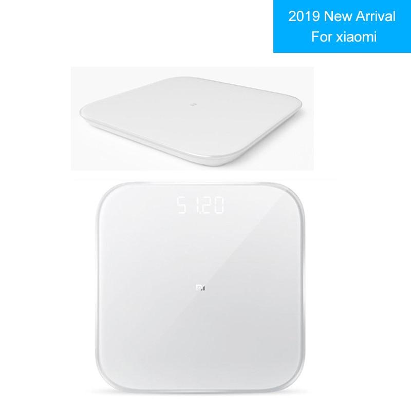 2019 Novo Para Xiaomi Smart 2 Balance Saúde Bluetooth 5.0 Peso Digital Pesando Escala Escala de Apoio Android 4.3 iOS 9 mifit App