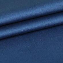 Атласная однотонная неэластичная ткань шириной 140 см для одежды и моды продается метром