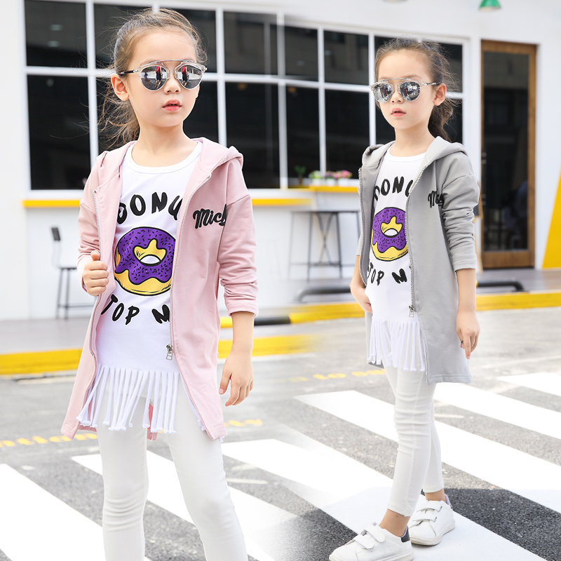 Baby Boys Girls Mickey Fashion Korean Jacket Dust coat Casual Clothes Outfits