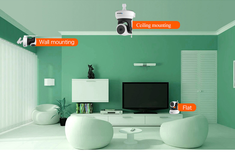 HTB1a9vhcEz.BuNjt bXq6AQmpXas VStarcam Wireless Security IP Camera Wifi IR-Cut Night Vision Audio Recording Surveillance Network Indoor Baby Monitor C7824WIP