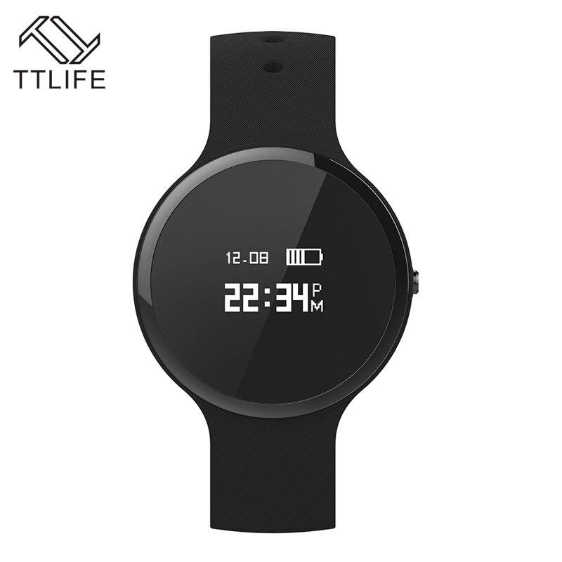 Ttlife anti-perdida ip67 a prueba de agua smart watch men sport natación pulsóme